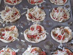 Tasty Pizza Muffins Make a Neat Pizza Treat - Modern Molly Mormon