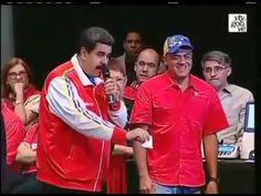 Urna eletrônica contradiz ao vivo comparsa do ditador Maduro