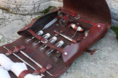 LARP Surgeon kit von MeoLeathercraft auf Etsy