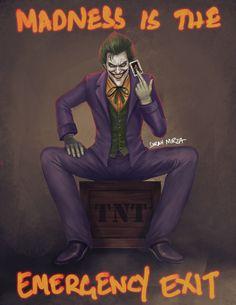 Joker by ceriselightning on @DeviantArt