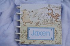 Classic Winnie the Pooh Scrapbook/Photo Album for Boy by DreaminOfWarmPlaces on Etsy