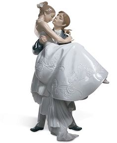 Lladro Porcelain Figurine, The Happiest Day. Groom carrying bride on their wedding day. Lladro creations are celebrations of life. This is the Lladro Perfect Wedding, Dream Wedding, Wedding Day, Summer Wedding, Wedding Anniversary, Wedding Venues, Luxury Wedding, Wedding Stuff, Wedding Groom