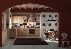 www.mobilificiomaieron.it - 0433775330. Cucina in legno massello di ...