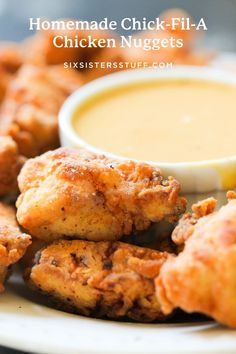 Homemade Chick-Fil-A Chicken Nuggets Recipe