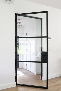 Home Living Room, White Internal Doors, Home, House Styles, New Homes, House Interior, Home Deco, Contemporary Home Decor, Home And Living