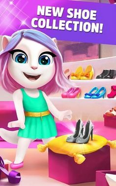 My Talking Angela v3.3.2.21 (Mod Money) My Talking Angela v3.3.2.21 (Mod Money)Requirements:4.0Overview:Explore Talking Angelas world and customise her fashion hairstyle makeup and home - all while playing addictively cute mini games. With over 165 mil