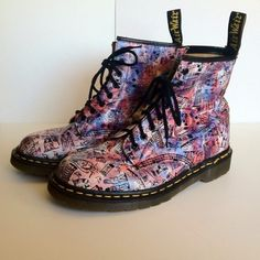 Retired London Dr. Martens. Awesome and hard to find. Up at Auction $99.99. Don't Miss Out!