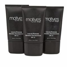 I love this foundation for the coverage and the SPF protection. Perfect for the summer!! SHOP.COM - Motives(r) Liquid Powder Mineral Foundation with SPF 15