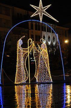 Christmas decor in Braga Portugal