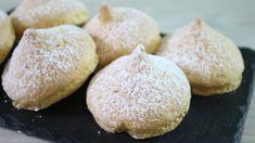 Tette della Monaca #ricetta Monaca, Custard Filling, Cannoli, Biscotti, Macarons, Hamburger, Bread, Youtube, Food