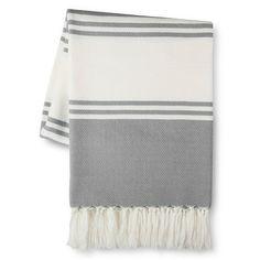 Threshold™ Stripe Throw Blanket
