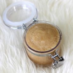 This DIY Brown Sugar & Vanilla Lip Polish will keep your lips soft and smooth all winter.