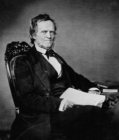 Image of William Lyon Mackenzie after his pardon. A strong defender of liberty, he led the attack on Montgomery's Tavern that began the Patriot War.