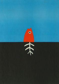 Jørgen Stock,  5th International Poster Biennale, Warsaw 1974