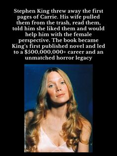 #Carrie #StephenKing First Page, Bibliophile, Novels, Reading, Reading Books, Fiction, Romance Novels