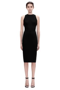 Victoria Beckham OPEN BACK FITTED