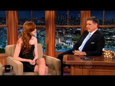 """Karen Gillan on the Late Late Show 2012-11-28 - YouTube  """"I'm gonna get more freckles and then they'll join up and then I'll be completely ginger!"""" -Karen Gillan on moving to LA."""