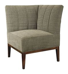 Bistro Corner Chair from the Mariette Himes Gomez collection by Hickory Chair Furniture Co.