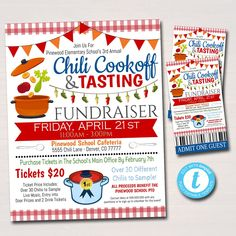 Invitation Text, Invitations, Invite, Gumbo Soup, Chili Cook Off, Fundraising Events, Fundraising Activities, Fundraising Companies, Fundraiser Event