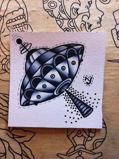 old school ufo tattoo - Google Search   Tattoo Inspiration ...