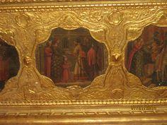 06 Nice, palais lascaris, détail du coffre 17°s
