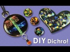 Little Windows - how to make Dichro Resin Jewelry #Resin