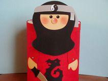 Laterne Ninja (Martinslaterne)