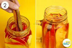 throw in cinnamon sticks to detoxify yoru water