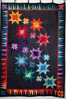 Oh I wish my granny was still here. We could make this beautiful quilt. Quilting is such a lost art.