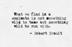 Wild to run with <3