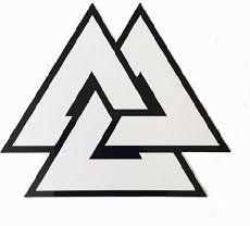 Valknut – Viking Symbol of Three Interlocking Triangles