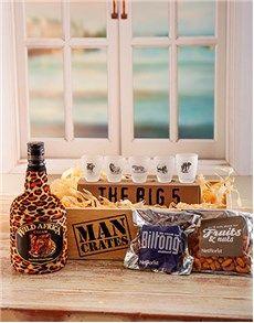 Birthday Gifts Ideas for Men: Wild Side Man Crate! Good Birthday Presents, Birthday Gift For Him, Man Crates, Gifts For Him, Snacks, Men, Ideas, Appetizers, Guys