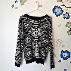 Aztec Meridian Sweater ❗️️️OFFERS WELCOMED:)❗️So much perfection! A gorgeous Aztec Meridian Sweater that is absolutely and extremely comfortable! This top is so soft and it's not a heavy/thick top. It's more on the lighter side and yet still has a little weight to it to keep you warm:) A must have since its such a unique design. Pair it with any pants, shorts, or jewelry that you want! This piece is definitely an essential necessity for any wardrobe:) ❗️Depending on lighting the coloring can…