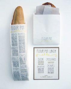 Fancy - Flour Pot Bakery Packaging