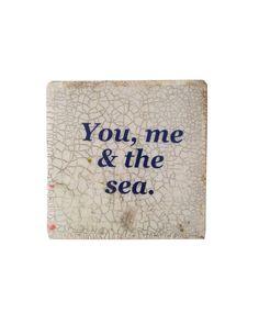 Ahoy Trader - Square Mini Plaque