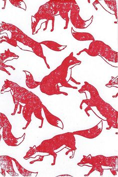 Fox Gocco print