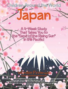 Japan Unit Study from Winter Promise - Good idea to study before starting to learn Japanese!!