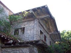 Royal Hotel (Takara Hotel) Ruins in Nakagusuku, Okinawa, Japan....