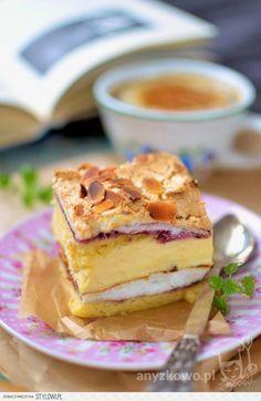 Ciasto pychotka - Pani Walewska Przepyszne ciasto z be…