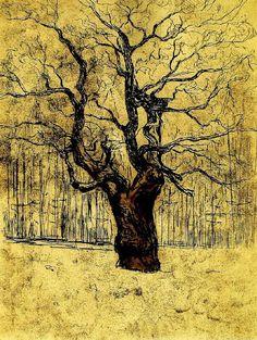Eken. Edvard Munch - 1903