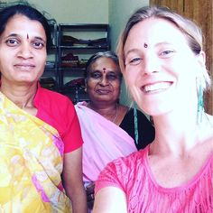 With the ladies at Lady's Point  #mysore2016 #stitching #sewing #tailoring #learningtosew #homeeconomics #sewyourownclothes #selfreliance #yoga #mysore #kannada #karnataka #southindia by utpaldevi