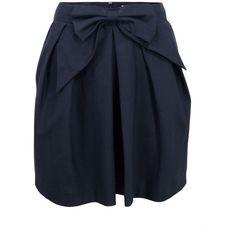 Paul & Joe Sister Fiona Navy Skirt found on Polyvore