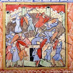 1155 - 1160, England  Morgan M.724 - Psalter, f. R-4
