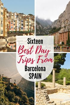 Barcelona is an incredible urban destination. But if you're looking to get out and explore, Catalonia is full of fascinating places to see! Read our pick of the best day trips from Barcelona Spain. via @lelongweekend