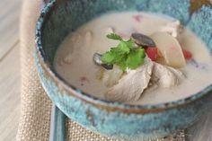 A recipe for a paleo Tom Kha Gai Thai Coconut Soup
