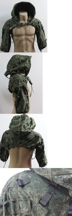 Ghillie Suits 177870: Russian Spetsnaz Ripstop Disguise Sniper Hood Emr Digital Flora + Gift BUY IT NOW ONLY: $123.48