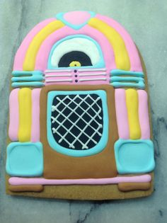 Juke Box Cookies For Issy's Milky Way