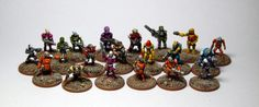 15mm Sci-fi minis for AE Bounty/MADG – christianbech.dk