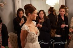 Anna Campbell Gossamer Collection Launch- amazing detail