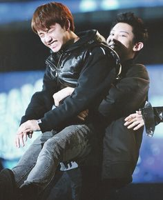 #Kyungsoo and #Chanyeol ~ D.O,, the happy puppy :P hehe <3